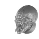 Warhammer 40k Bitz: Genestealer Cults - Acolyte Hybrids - Kopf F