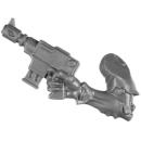 Warhammer 40k Bitz: Genestealer Cults - Acolyte Hybrids - Waffe A2 - Maschinenpistole