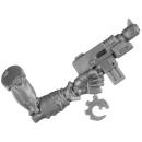 Warhammer 40k Bitz: Genestealer Cults - Acolyte Hybrids - Waffe A3 - Maschinenpistole