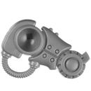 Warhammer 40k Bitz: Adeptus Mechanicus - Kastelan Robots - Beine A6 - Oberschenkel, Links