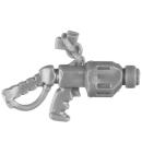 Warhammer 40k Bitz: Adeptus Mechanicus - Kastelan Robots - Torso M - Maschinenpistole