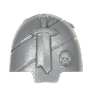Warhammer 40k Bitz: Dark Angels - Veteranen - Schulterpanzer I - Terminator