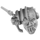 Warhammer 40k Bitz: Adeptus Mechanicus - Kataphron Battle Servvitors - Kopf F