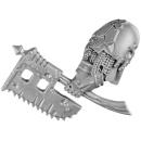 Warhammer 40k Bitz: Chaos Space Marines - Blightlord Terminators - Waffe A1 - Bubonenaxt