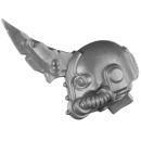 Warhammer 40k Bitz: Chaos Space Marines - Blightlord Terminators - Kopf B1