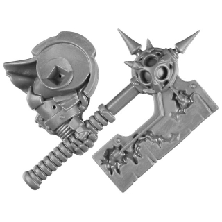Warhammer 40k Bitz: Chaos Space Marines - Blightlord Terminators - Weapon C3 - Bubotic Axe