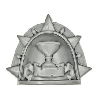Warhammer 40k Bitz: Blood Angels - Sanguinische Garde - Schulterpanzer L