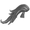 Warhammer 40K Bitz: Adeptus Custodes - Custodian Wardens - Head I - Hair