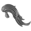 Warhammer 40K Bitz: Adeptus Custodes - Custodian Wardens - Head J - Hair