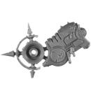 Warhammer 40K Bitz: Chaos Space Marines - Foetid Bloat-Drone - Waffe A1c - Halterung, Rechts