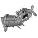 Warhammer 40K Bitz: Chaos Space Marines -Terminators - Torso B3 - Bein