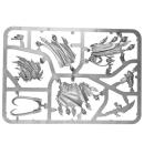 Warhammer SPRUES - 40k - ORKS - B1 - Weirdnob Shaman