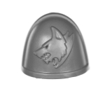 Warhammer 40K Bitz: Space Wolves - Primaris Upgrades - Shoulder Pad A