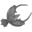 Warhammer 40K Bitz: Adeptus Custodes - Allarus Custodians - Torso D1 - Collar