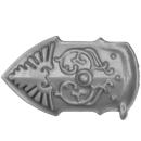 Warhammer 40K Bitz: Adeptus Custodes - Allarus Custodians - Torso A8 - Leg Plate