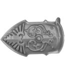 Warhammer 40K Bitz: Adeptus Custodes - Allarus Custodians - Torso A9 - Leg Plate