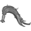 Warhammer 40K Bitz: Adeptus Custodes - Allarus Custodians - Torso D2 - Hair