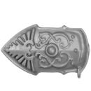 Warhammer 40K Bitz: Adeptus Custodes - Allarus Custodians - Torso B8 - Leg Plate