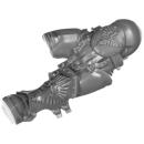 Warhammer 40K Bitz: Adeptus Custodes - Custodian Guard - Torso D1 - Beine