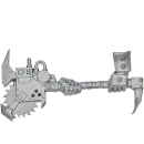 Warhammer 40k Bits: Orks - Ork Nobz - Weapon H1 - Big...