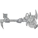 Warhammer 40k Bitz: Orks - Orkbosse - Waffe H1 - Fetta Spalta II