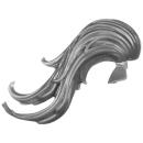 Warhammer 40K Bitz: Adeptus Custodes - Custodian Guard - Kopf C2 - Haar