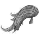 Warhammer 40K Bitz: Adeptus Custodes - Custodian Guard - Kopf D2 - Haar