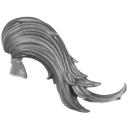 Warhammer 40K Bitz: Adeptus Custodes - Custodian Guard - Kopf E2 - Haar