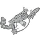 Warhammer 40k Bitz: Orks - Orkbosse - Waffe A1 -...