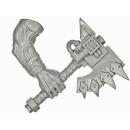Warhammer 40k Bitz: Orks - Orkbosse - Waffe R - Spalta