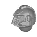 Warhammer 40K Bitz: Chaos Space Marines - Scarab Occult Terminatoren - Kopf A