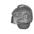 Warhammer 40K Bitz: Chaos Space Marines - Scarab Occult Terminatoren - Kopf D