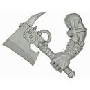 Warhammer 40k Bits: Orks - Ork Nobz - Weapon V - Choppa