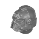 Warhammer 40K Bitz: Chaos Space Marines - Scarab Occult Terminatoren - Kopf G - Sorcerer