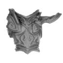Warhammer AoS Bitz: Dunkelelfen - Echsenritter - Torso A1 - Dunkler Paladin, Front