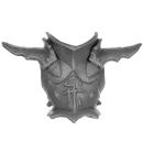 Warhammer AoS Bitz: Dunkelelfen - Echsenritter - Torso F1 - Front