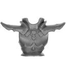 Warhammer AoS Bitz: Dunkelelfen - Echsenritter - Torso F2 - Back