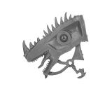 Warhammer AoS Bitz: Dunkelelfen - Echsenritter - Echsenkopf D1 - Dunkler Paladin, Rechts