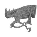 Warhammer AoS Bitz: Dunkelelfen - Echsenritter - Echsenkopf D2 - Dunkler Paladin, Links