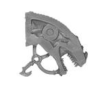 Warhammer AoS Bitz: Dunkelelfen - Echsenritter - Echsenkopf A2 - Links
