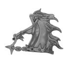 Warhammer AoS Bitz: Chaos - Marauder Horsemen - Torso D3 - Horse, Head