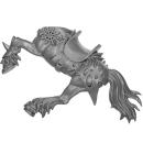 Warhammer AoS Bitz: Chaos - Marauder Horsemen - Torso E2 - Horse, Left