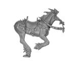 Warhammer AoS Bitz: Chaos - Marauder Horsemen - Torso F1 - Horse, Right