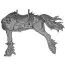 Warhammer AoS Bitz: Chaos - Marauder Horsemen - Torso F2 - Horse, Left