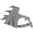Warhammer AoS Bitz: Chaos - Marauder Horsemen - Torso F3 - Horse, Head