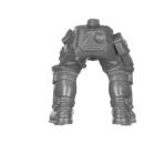Warhammer 40k Bitz: Genestealer Cults - Atalan Jackals - Chassis A07 - Torso, Legs