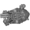 Warhammer 40k Bitz: Genestealer Cults - Atalan Jackals - Chassis A08 - Torso, Back
