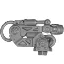 Warhammer 40k Bitz: Genestealer Cults - Atalan Jackals - Chassis A14 - Wolfquad, Weapon Mount