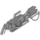 Warhammer 40k Bitz: Genestealer Cults - Atalan Jackals - Chassis A18 - Wolfquad, Atalan Incinerator
