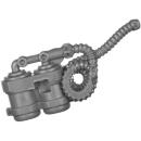 Warhammer 40k Bitz: Genestealer Cults - Atalan Jackals - Chassis A19 - Wolfquad, Fuel Tank